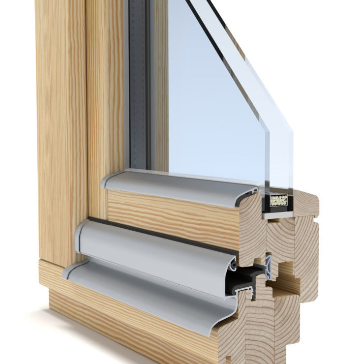 Ikon Full wood tilt and turn window